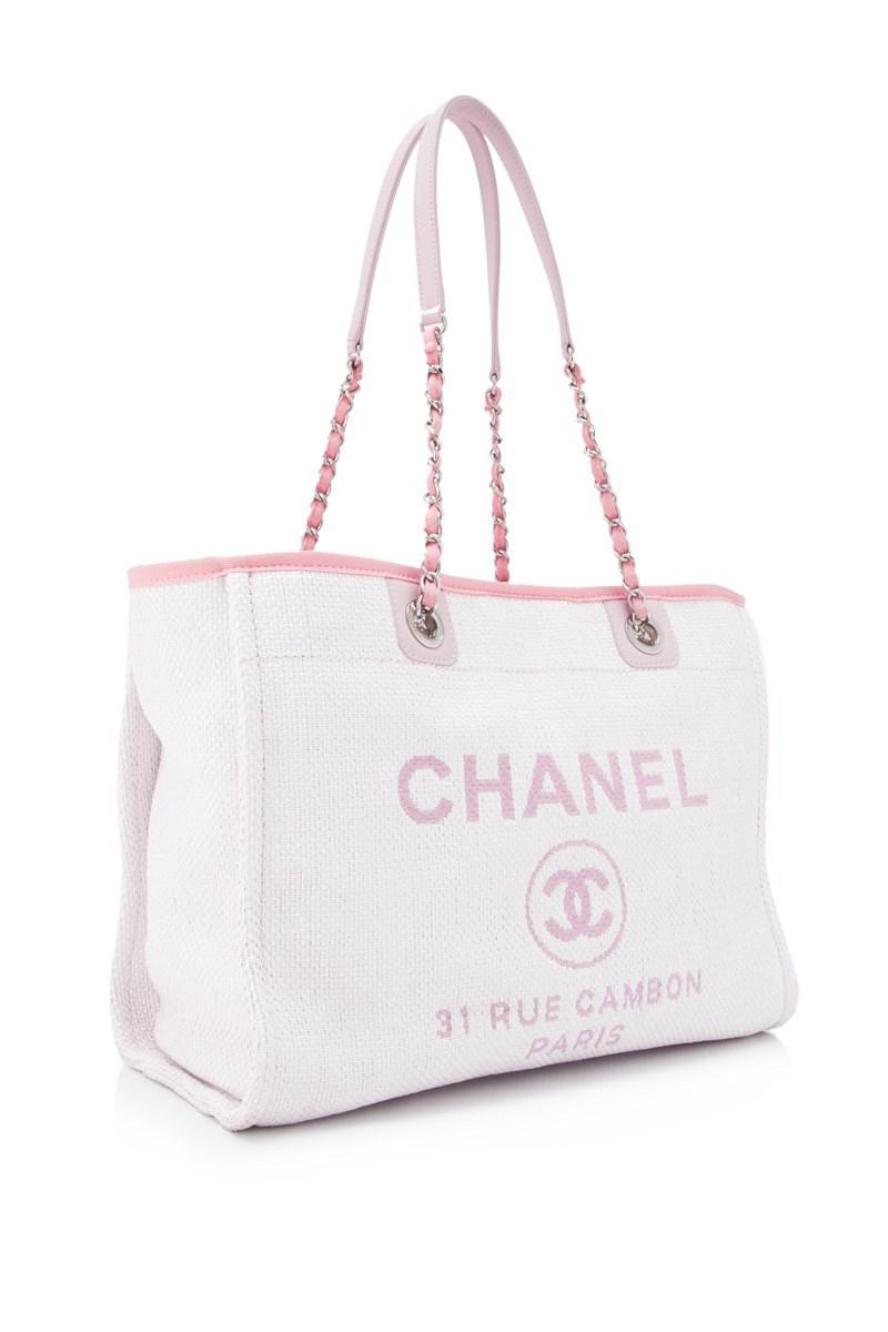 cb9c599df6e6 Lyst - Chanel Pre-owned 31 Rue Cambon Tote Bag in Pink