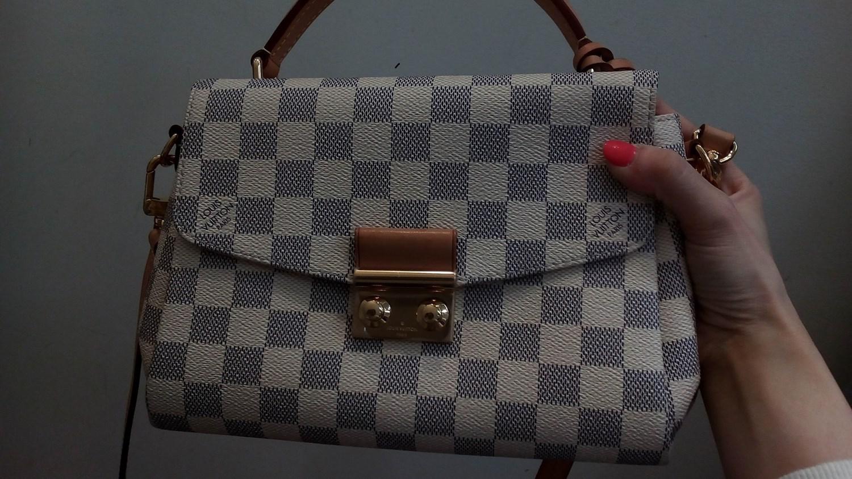 Lyst - Louis Vuitton Hand Bag White in Green 4a3076c41f