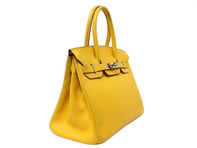 0cfcbabdfa Gallery. Previously sold at  Reebonz · Women s Yellow Handbags Women s Hermes  Birkin ...