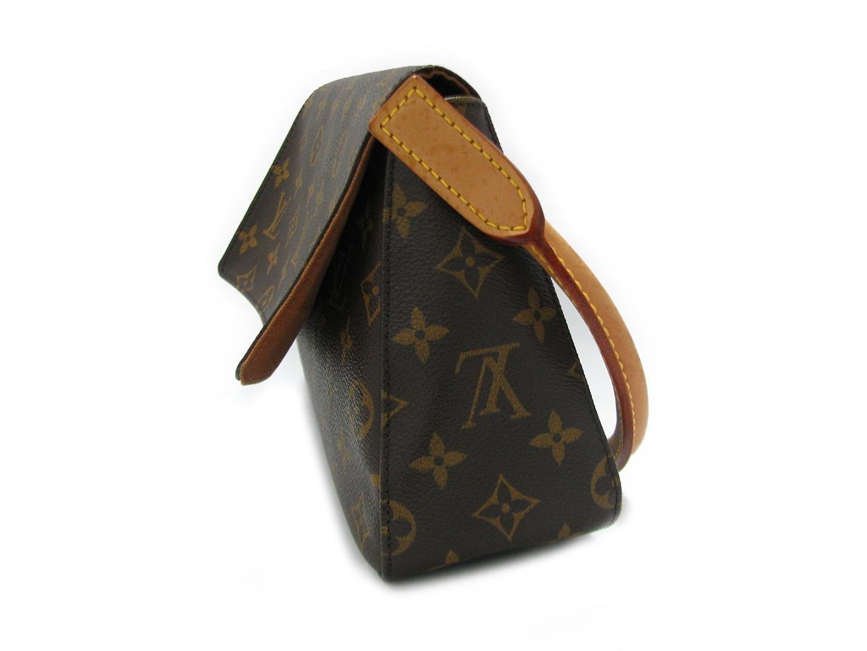 0f42a1e4f631 Lyst - Louis Vuitton Mini Looping Shoulder Hand Bag Monogram Canvas ...