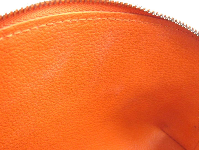 43ec7cb285a4 Lyst - Louis Vuitton Authentic Cosmetic Pouch Bag Epi Leather Orange ...