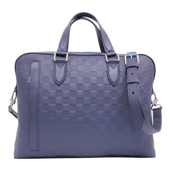Lyst - Louis Vuitton Studio N41492 Damier Infini Cosmos in Blue 27198e3bb733f