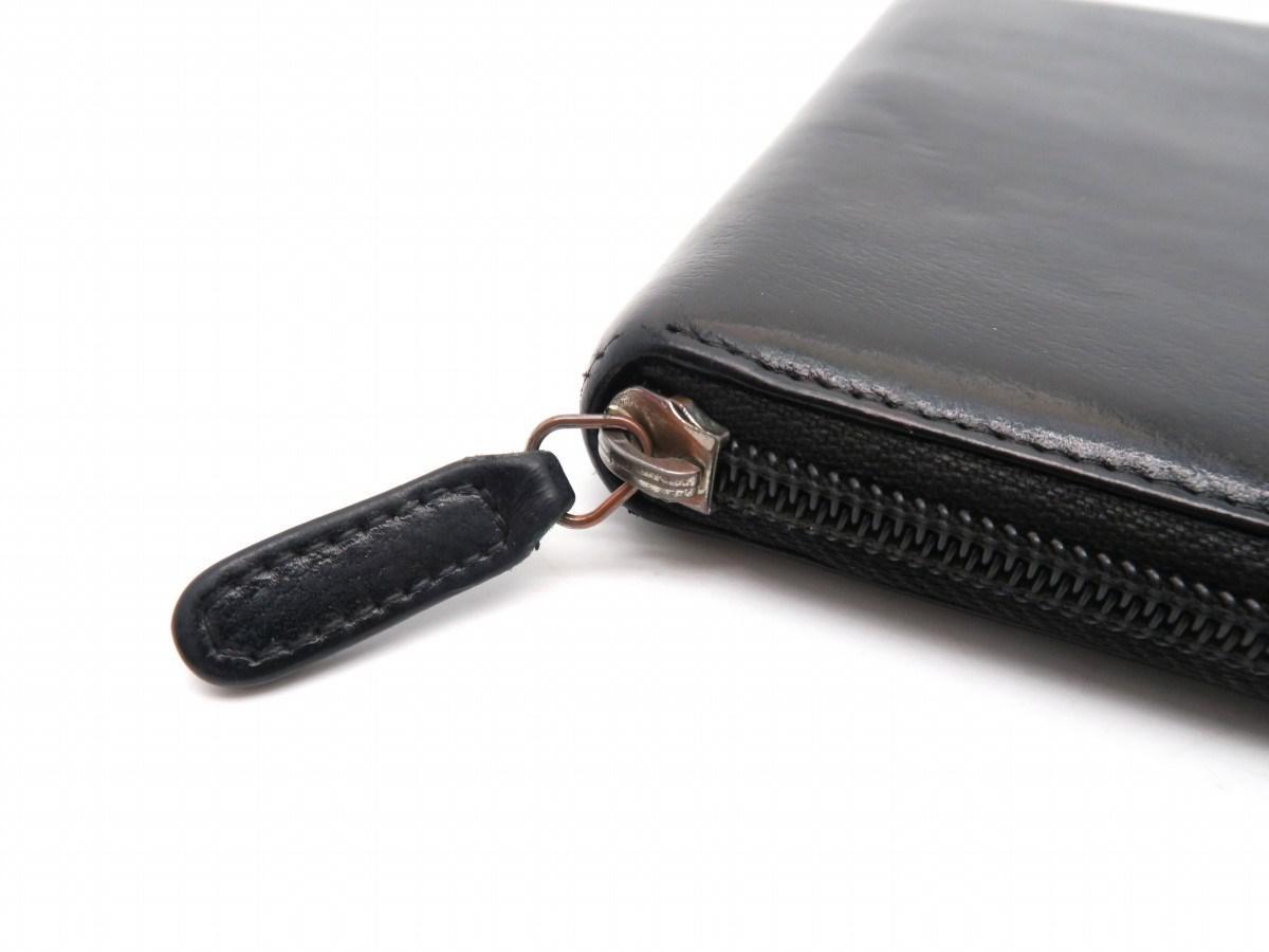 b99a691a3a892f Lyst - Chanel Calfskin Leather Camellia Zipper Long Wallet Purse ...