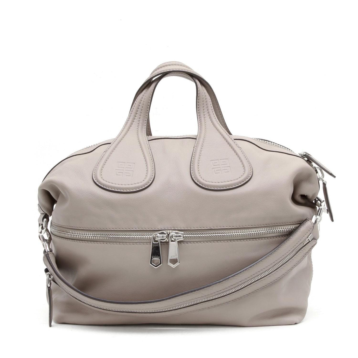 Lyst - Givenchy Nightingale Bag Large Model In Pink Beige Leather in ... 75e6cf3809949