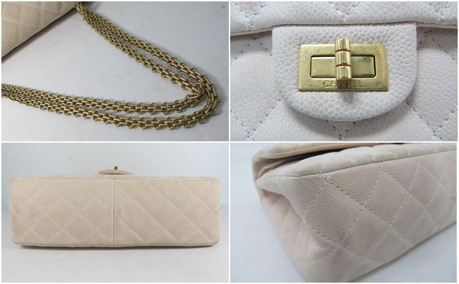 d4565c536366f2 Chanel 2.55 Reissue Quilted Classic Suede Caviar Leather 226 Flap ...