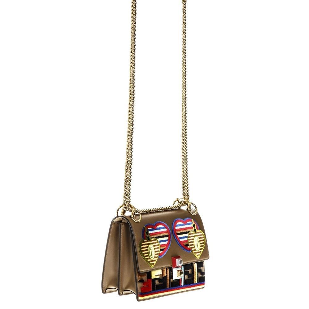 df0a65308ab1 Fendi - Multicolor Shoulder Bags Mud - Lyst. View fullscreen