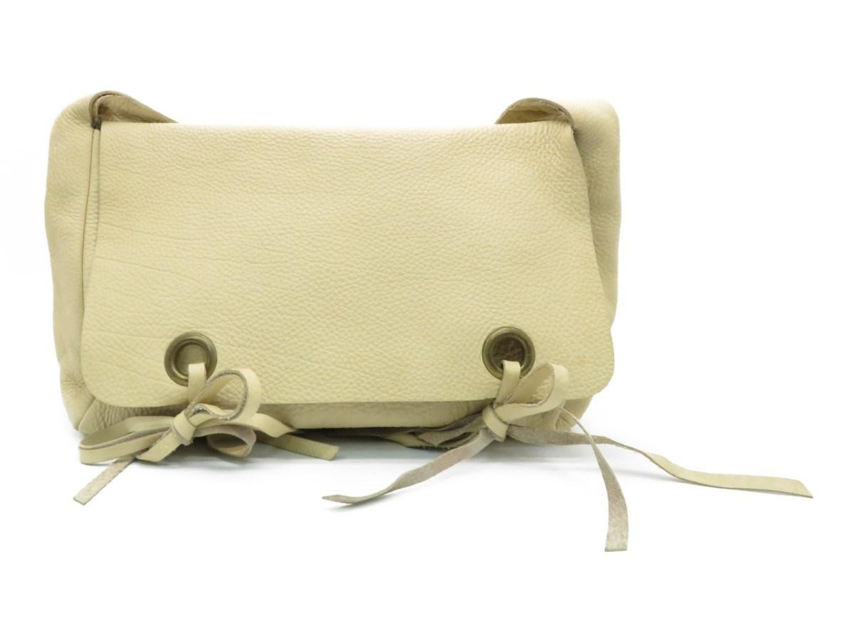 aad9ffeb5344 Lyst - Miu Miu Calfskin Leather Shoulder Bag Khaki 9440 in Brown for Men