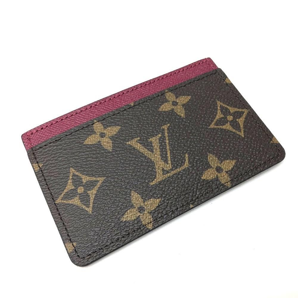 Lyst - Louis Vuitton Unused Monogram Porte Cartes-simple Business ...