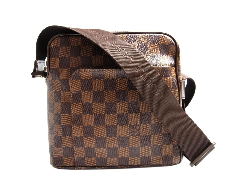 070b3d267e Lyst - Louis Vuitton Olav Pm Shoulder Bag Damier N41442 in Brown