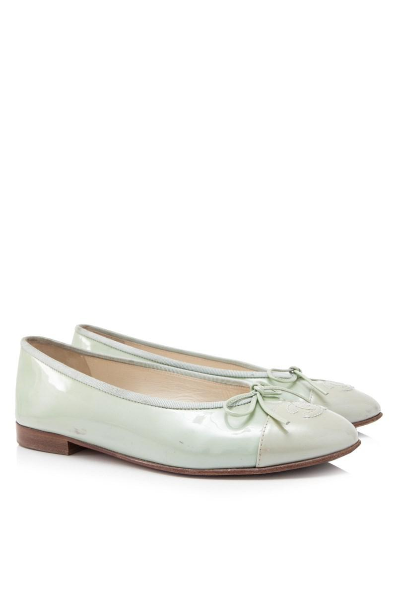 Pre-owned - Patent leather ballet flats Chanel vaS3iBv