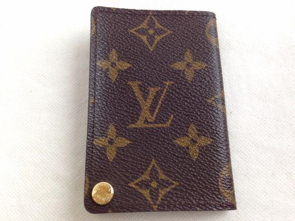 22d544f97d84 Lyst - Louis Vuitton Porte Cartes Credit Pression Monogram Card Case ...