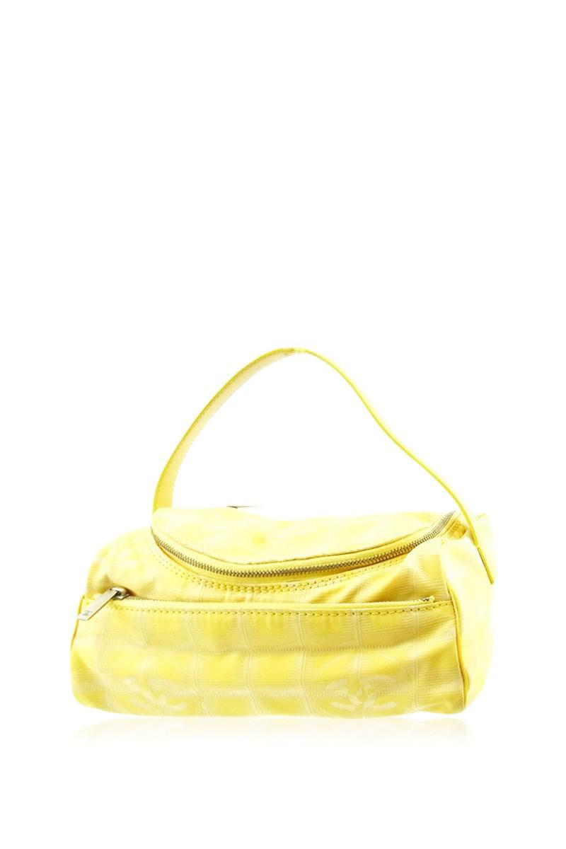 756abbcd34c5 Lyst - Chanel Vanity New Travel Line Ladies Used T4609 in Yellow