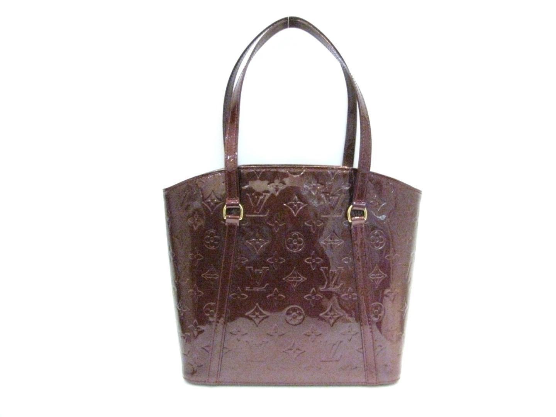 0a89f67be59c Lyst - Louis Vuitton Vernis Avalon Mm Tote Bag Rouge Fauviste M91744 ...