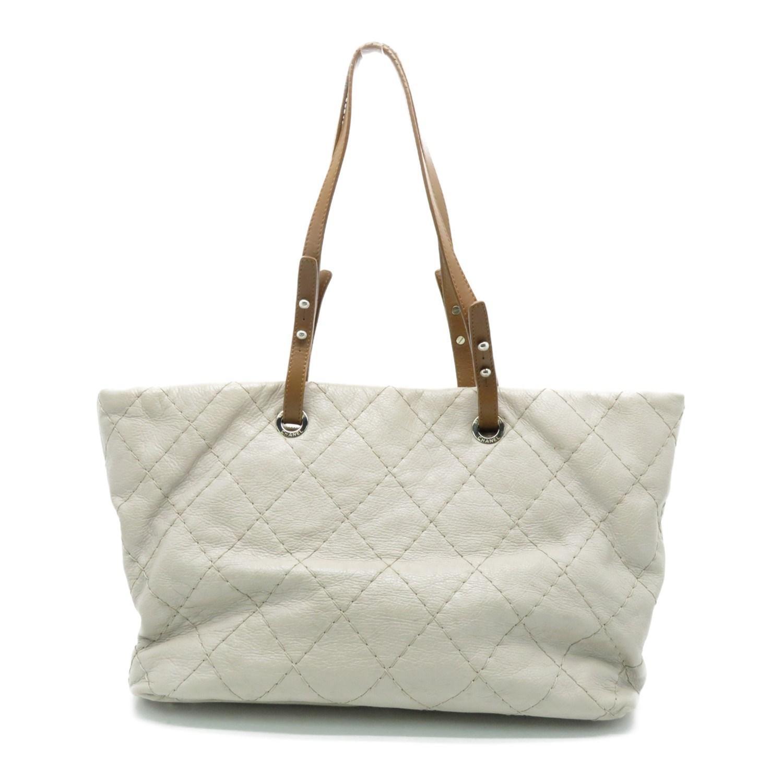 100b25dd7dad14 Chanel Matelasse Cc Shoulder Bag Shw Calfskin Leather Grey 4527 in Gray -  Lyst