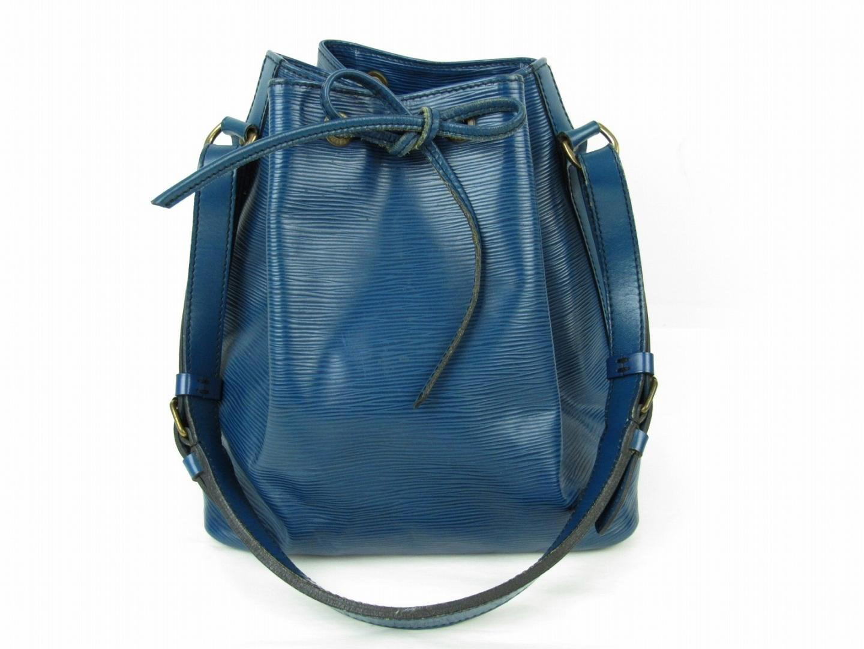 aae745deed82 Lyst - Louis Vuitton Petit Noe Shoulder Bag Epi Leather Toledo Blue ...