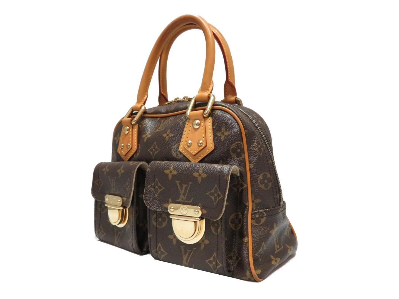 ee5ecc14806b Lyst - Louis Vuitton Authentic Manhattan Pm Handbag Bag Monogram ...