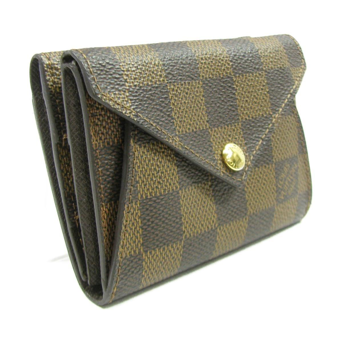 Louis Vuitton Auth Origami Compact Bifold Wallet Wallet N63099