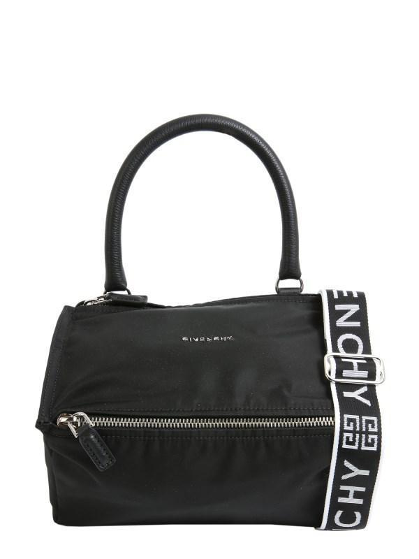 cc8b20b7223 Givenchy 4g Small Pandora Nylon Bag in Black - Lyst