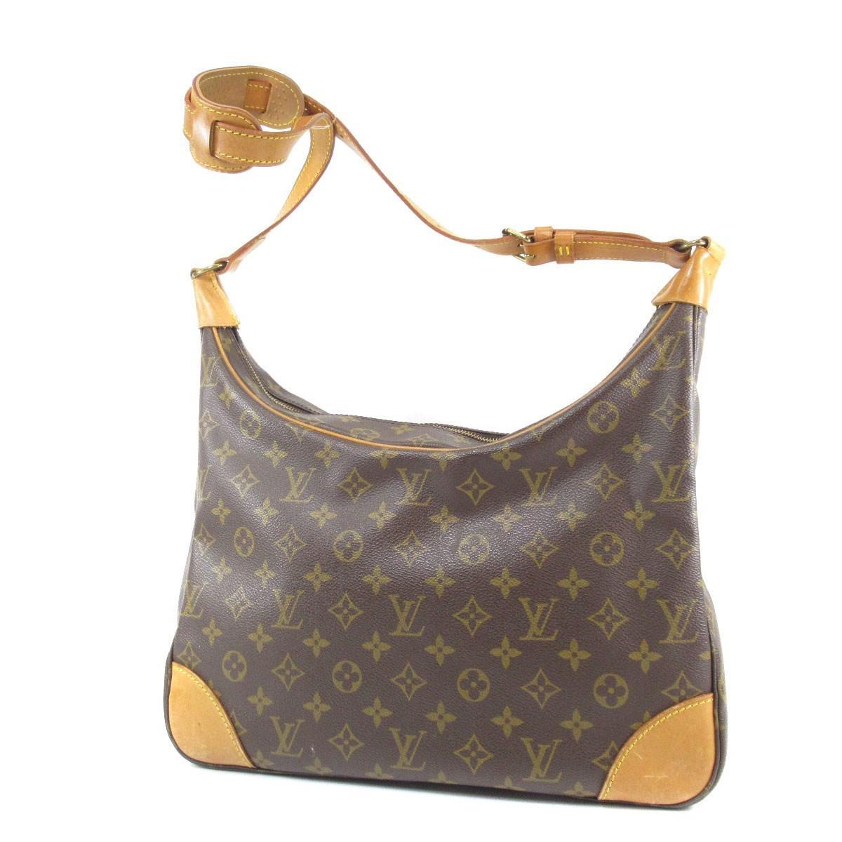 056b1cade2e4 Lyst - Louis Vuitton Monogram Canvas Shoulder Bag M51265 Boulogne 30 ...