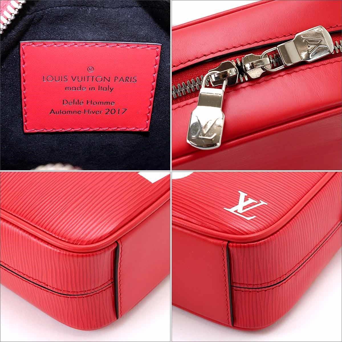 ... best 6c157 7a856 Lyst - Louis Vuitton Supreme Danube Pm Shoulder Bag Epi  Leat ... 12f022fa751f2