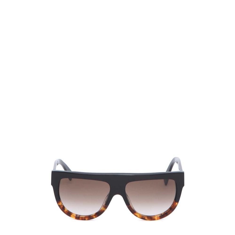 09e2631da23 Lyst - Céline Sunglasses Nero marrone in Black