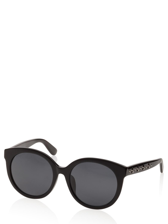 4069790004c Lyst - Jimmy Choo Sunglasses Black Astar f s in Black