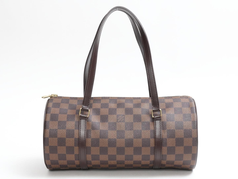 4eaaceb30b7d Lyst - Louis Vuitton Authentic Papillon Gm Handbag N51303 Damier ...