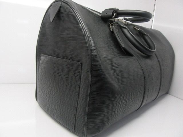 26e80463f08b Lyst - Louis Vuitton Epi Keepall 50 Boston Bag M42962 Black in Black ...
