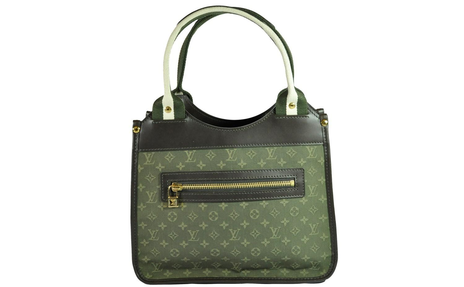 2f6464be7 Louis Vuitton Mini Lin Sac Kathleen In Khaki in Green - Lyst