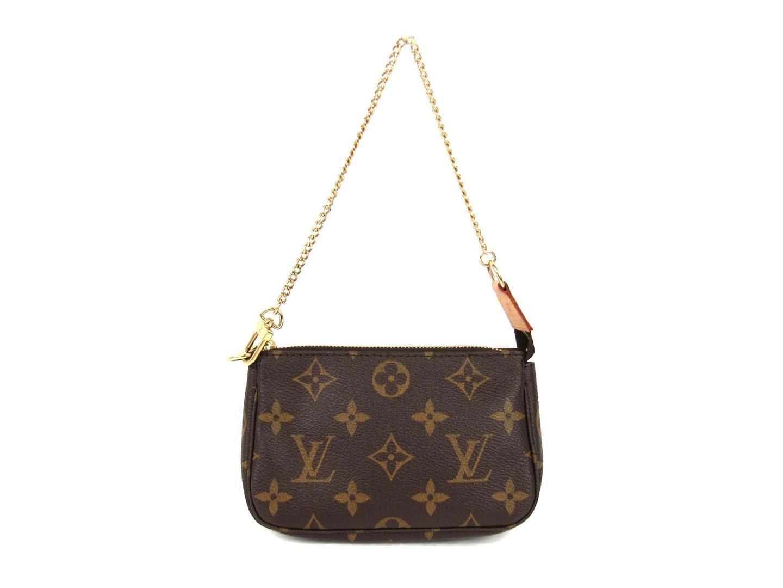 ca0c52f9bac0 Lyst - Louis Vuitton Mini Pochette Accessoires Pouch Monogram Canvas ...