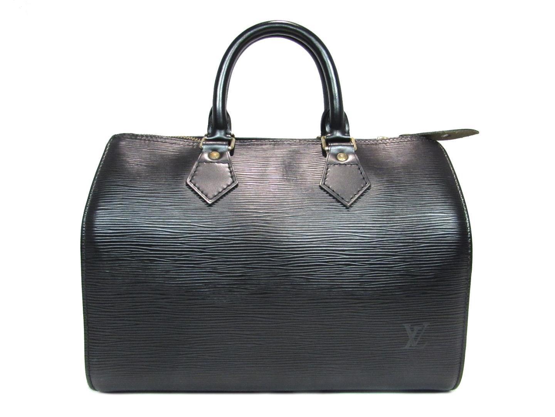 01602baabe8e Lyst - Louis Vuitton Auth Speedy 30 Handbag Boston Bag M59022 Epi ...