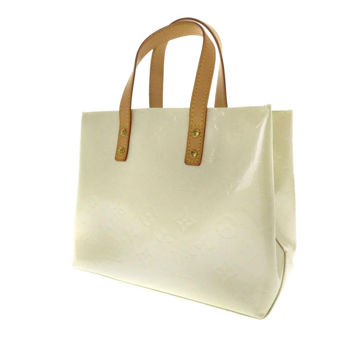 2dc04e5d08 Louis Vuitton Vernis Tote Bag Lead Pm M91336 in White - Lyst