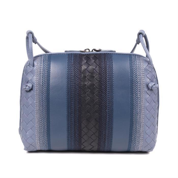 95a59670b3 Lyst - Bottega Veneta Sunshine Crossbody Bag in Black