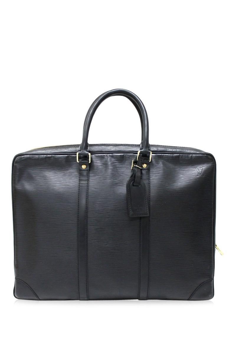 9155dbd70 Lyst - Louis Vuitton Epi Portedocument - Voiruge Hand Bag Business ...