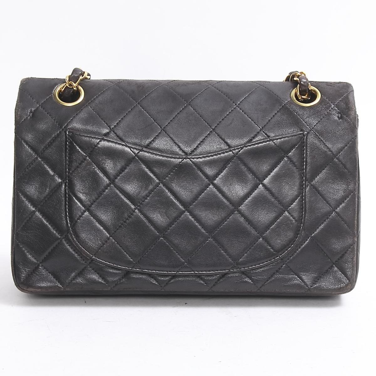 879d89afca50 Lyst - Chanel Matelasse W Flap Chain Shoulder Bag Lambskin Leather ...