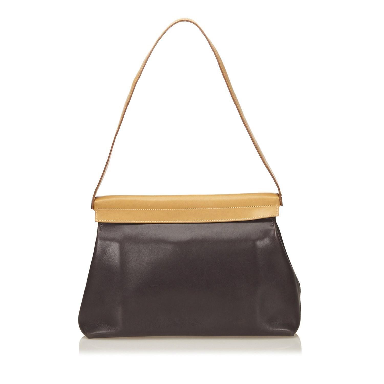 6c5950269cb2 ... inexpensive hermès vintage cacahuete shoulder bag hermès. womens brown  yeoh shoulder bag 09305 a0c5a