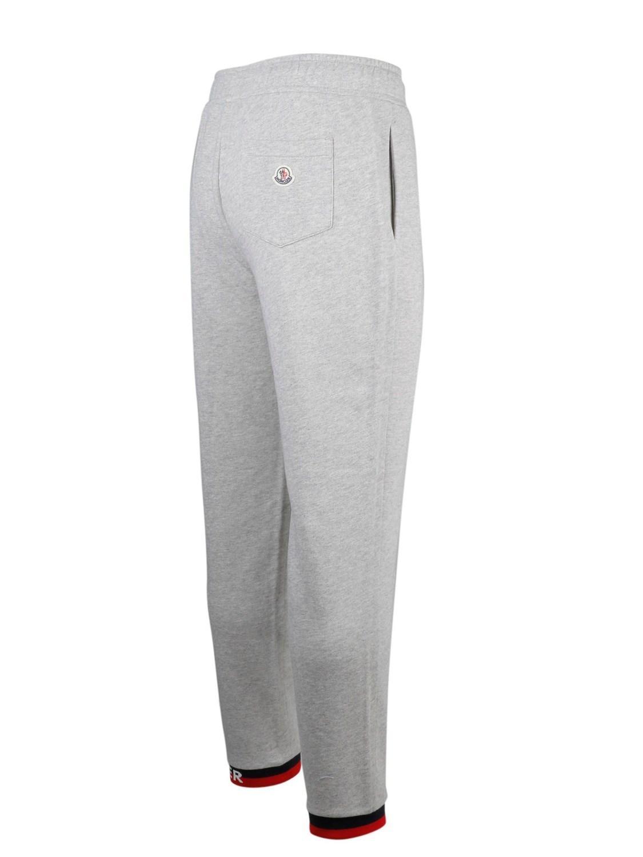 3fec3dee2c79 Lyst - Moncler Men s 8704600v8020910 Grey Cotton JOGGERS in Gray for Men