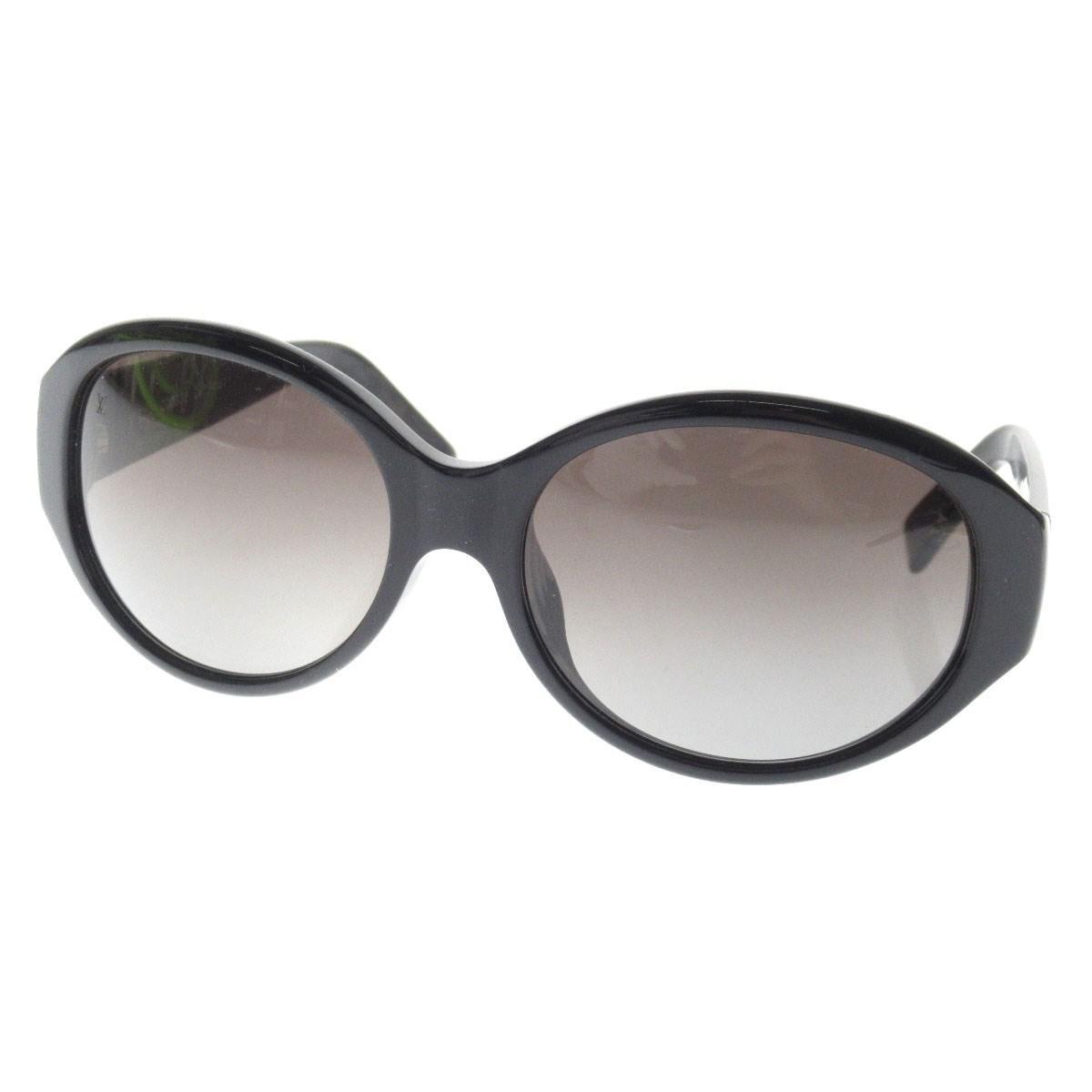 61d395990952d Lyst - Louis Vuitton Plastic Sunglasses Logo Design in Black
