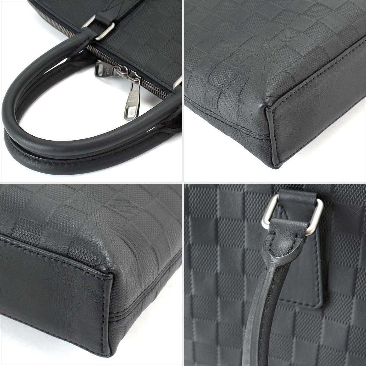 d075ebe18f97 Lyst - Louis Vuitton Damier Infini Porte Documents Jour Pdj Bag ...