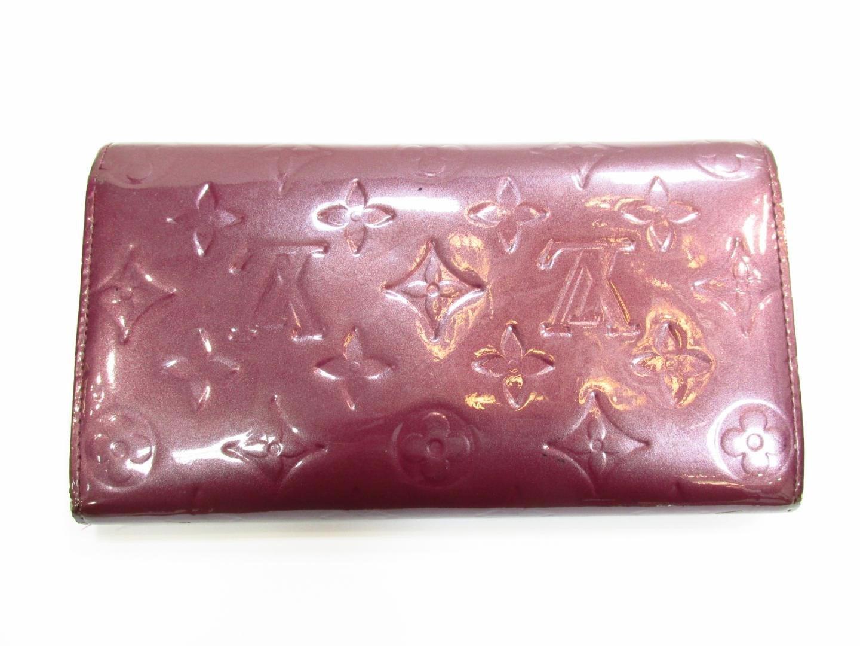 5b6cf60dbb04 Lyst - Louis Vuitton Portefeuille Sarah Long Bifold Wallet Purse ...