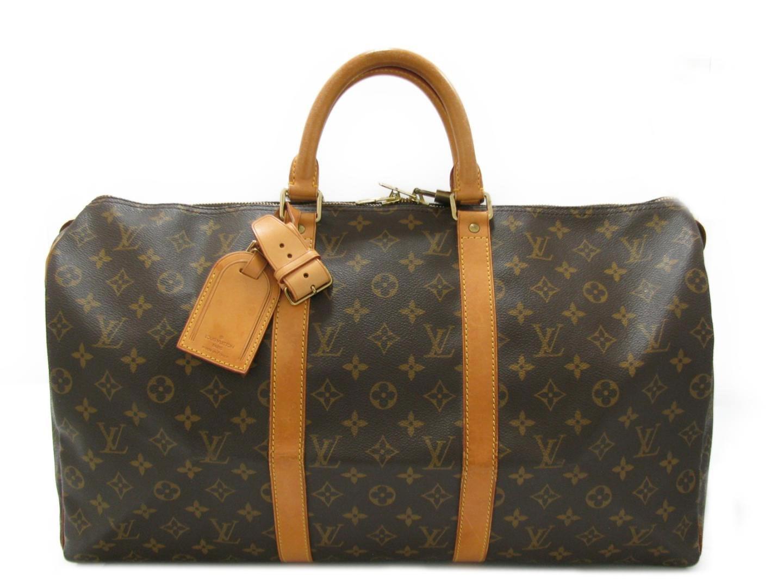 f5c53ff3277f Lyst - Louis Vuitton Keepall 50 Boston Bag Monogram Canvas M41426 in ...