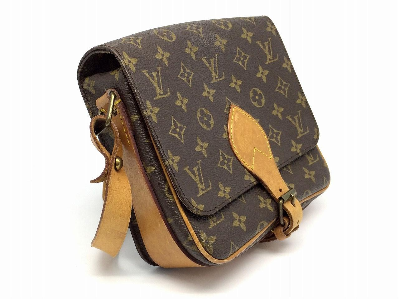 5396450e9ac6 Louis Vuitton - Cartouchiere Shoulder Bag Monogram Brown M51253 6423 for Men  - Lyst. View fullscreen