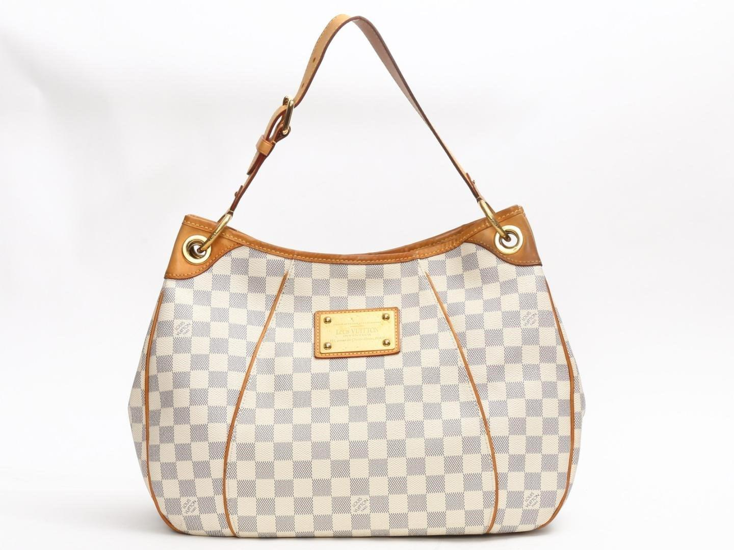 Lyst - Louis Vuitton Galliera Pm Shoulder Bag Damier Azur N55215 in ... 225d8c97b0856