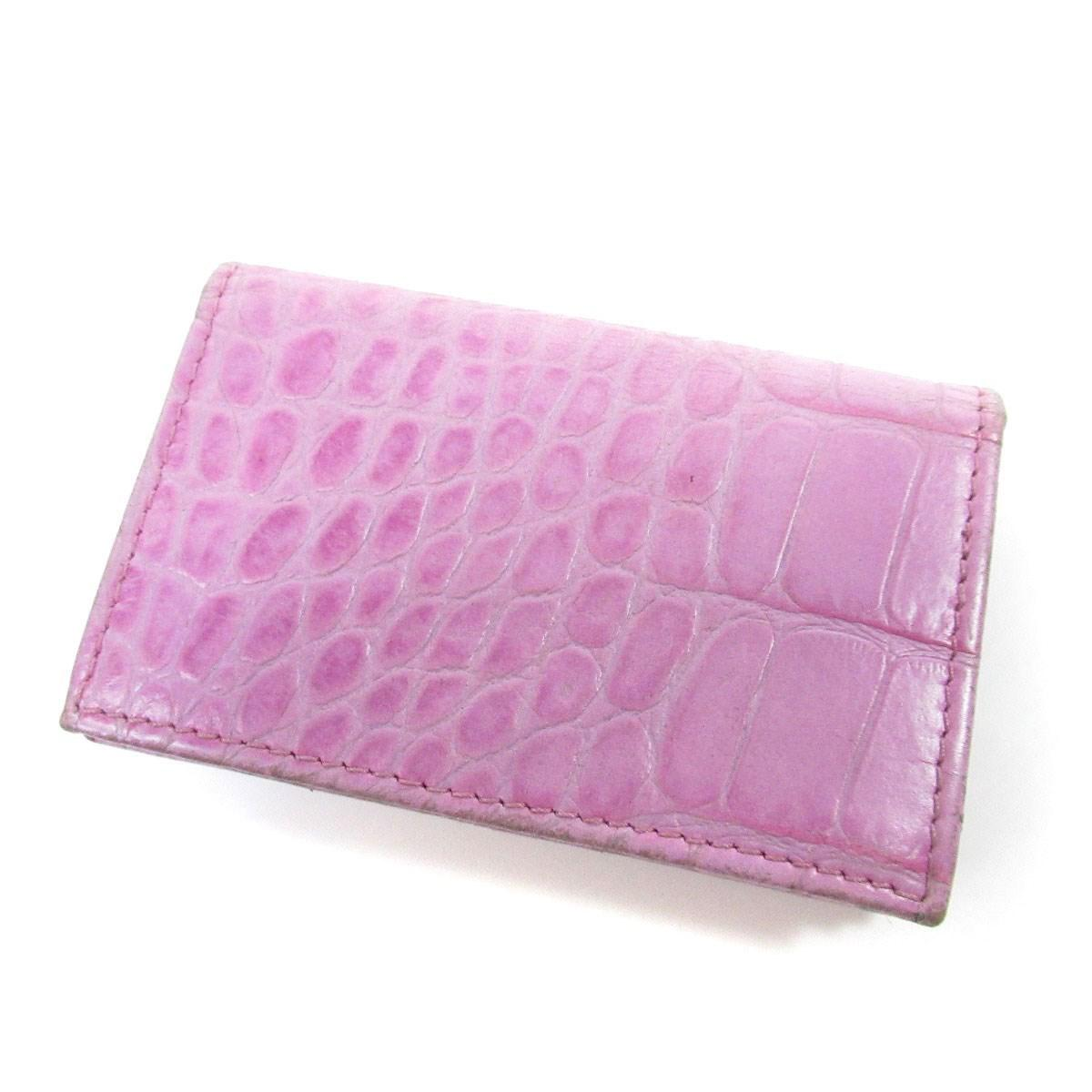 Lyst - Jimmy Choo Leather Card Case Business Card Holder in Purple