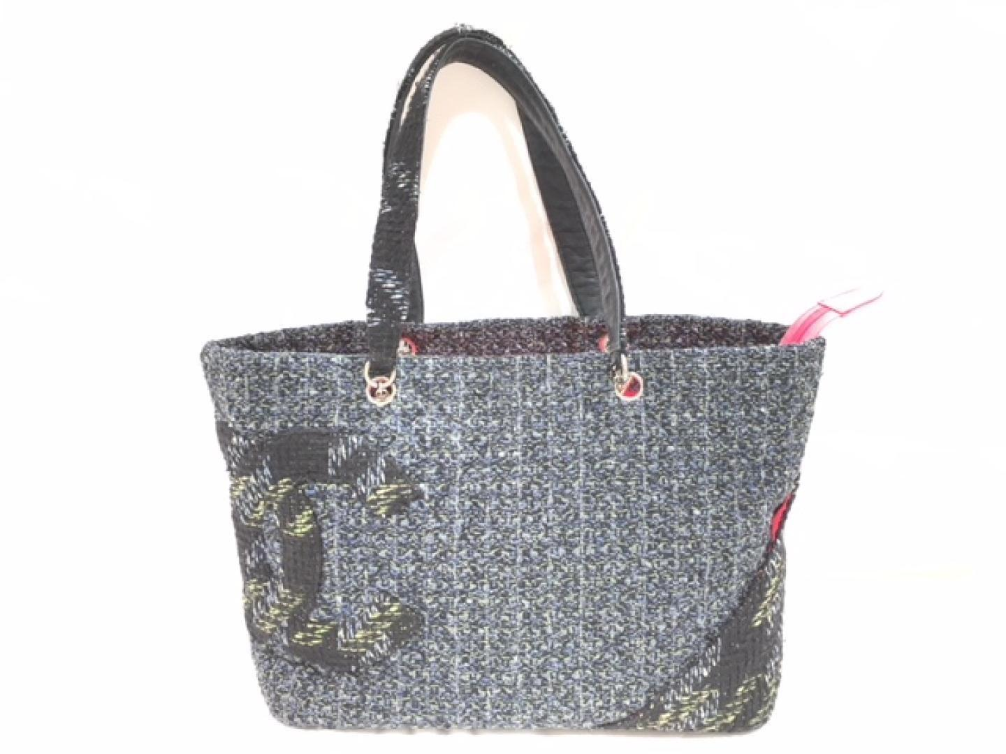 53b0cba0723b ... Lyst - Chanel Cambonline Large Tote Tote Bag Grey Tweed in G another  chance 17784 a2929 ...