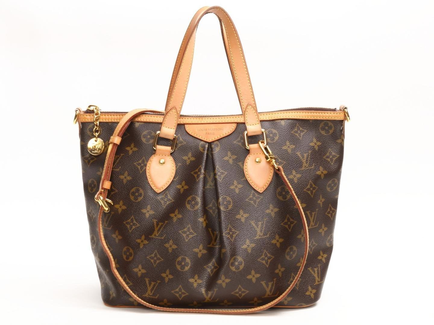 224eff99642fe Louis Vuitton Palermo Pm Handbag Shoulder Bag Monogram Canvas M40145 ...