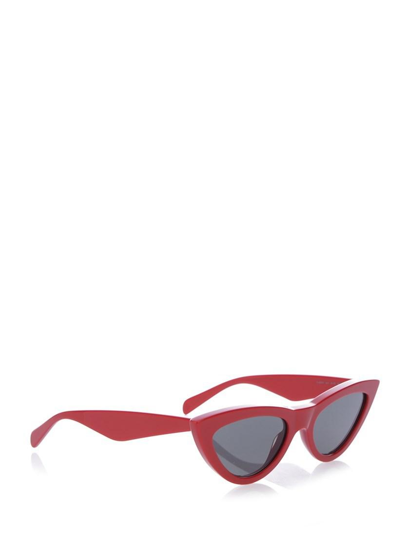 8462f33f4b7 Lyst - Céline Glasses Ss18 40019cplb 27ed in Red