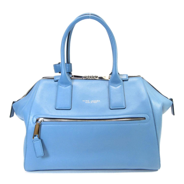 5f44c6cb5e0c Lyst - Marc Jacobs Auth Incognito Bag Shoulder Handbag Blue Leather ...