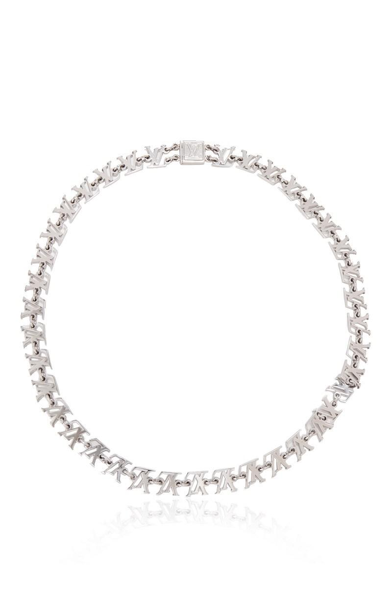 4505ad222b6c Lyst - Louis Vuitton Pre-owned Multi Lv Necklace in Metallic