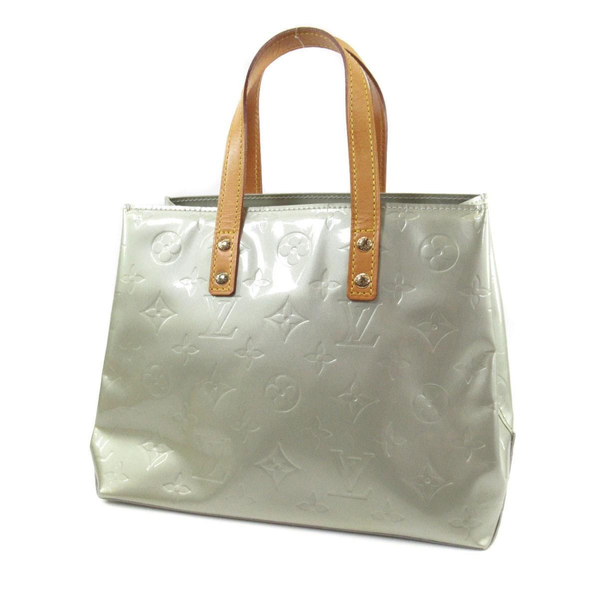 fa4e56e58e Lyst - Louis Vuitton Vernis Handbag M91145 Lead Pm in Gray